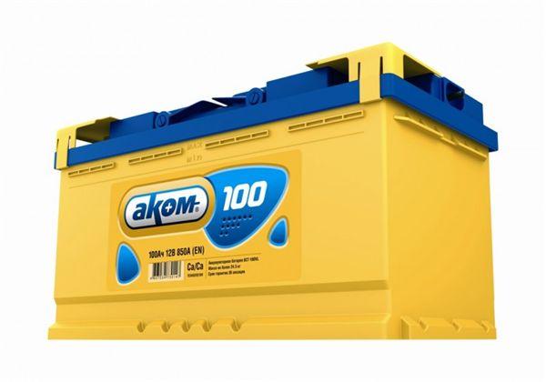 Аккумулятор AKOM 100 а/ч о/п